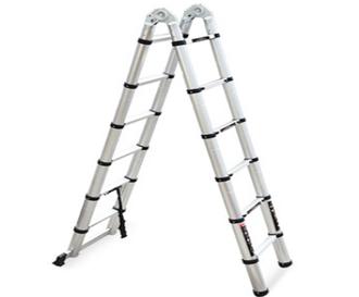 重庆双面竹节梯铝合金折叠梯